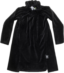 Nununu VELVET Dress Nununu VELVET Dress black