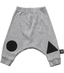Nununu GEOMETRIC Baggy Baby Pants Nununu GEOMETRIC Baggy Baby Pants grey melange