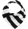Nununu Bib STRIPED Nununu Bib STRIPED black and white