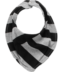 Nununu Bib STRIPED Nununu Bib STRIPED grey melange black