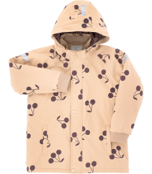 Tiny Cottons BIG CHERRIES Snow Jacket Tiny Cottons BIG CHERRIES Snow Jacket nude