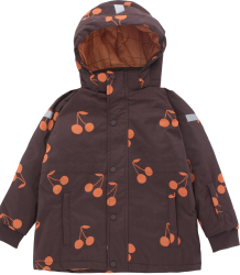 Tiny Cottons BIG CHERRIES Snow Jacket Tiny Cottons BIG CHERRIES Snow Jacket