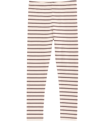 Tiny Cottons Jersey Pants SMALL STRIPES Tiny Cottons Jersey Pants SMALL STRIPES plum