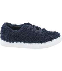 Tiny Cottons Fluffy Sneaker Tiny Cottons Face Boots navy blue