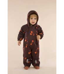 Tiny Cottons BIG CHERRIES Snow Onepiece Tiny Cottons BIG CHERRIES Snow Onepiece plum