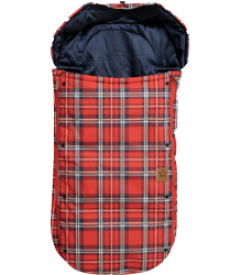 Mini Rodini Alaska CHECK Foot Muff Mini Rodini Alaska CHECK Footmuff