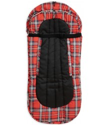 Mini Rodini Alaska CHECK Footmuff Mini Rodini Alaska CHECK Footmuff