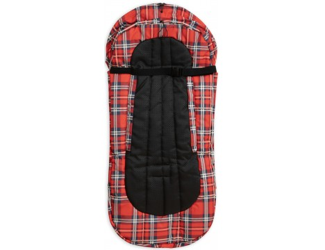 Mini Rodini Alaska CHECK Foot Muff