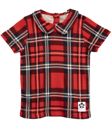 Mini Rodini CHECK SS Collar Tee Mini Rodini FOX FAMILY SS Tee Collar