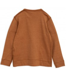 Mini Rodini Wool LS Tee PANDA Mini Rodini Wool LS Tee PANDA brown