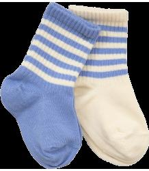 Mini Rodini Stripe Sock 2-pack Mini Rodini Stripe Sock 2-pack blue