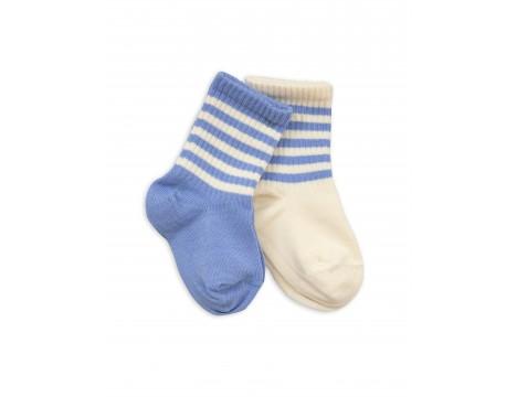 Mini Rodini Stripe Sock 2-pack