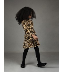 Mini Rodini Velours Dress LEOPARD Mini Rodini Velours Dress LEOPARD