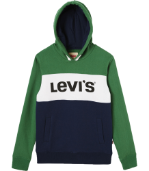Levi's Kids Sweat Hoody Blocky  Levi's Kids Sweat Hoody Blocky green