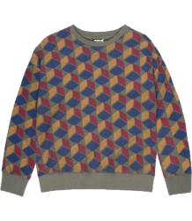 Barn of Monkeys Printed Sweatshirt CUBES Barn of Monkeys Printed Sweatshirt CUBES