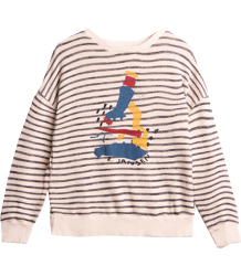 Barn of Monkeys Printed Sweatshirt Stripes MICRO Barn of Monkeys Printed Sweatshirt Stripes MICRO
