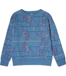 Barn of Monkeys Printed Sweatshirt CIRCUIT Barn of Monkeys Printed Sweatshirt CIRCUIT
