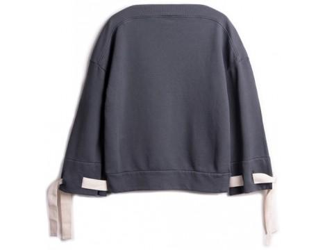 Barn of Monkeys Sweatshirt w/BOAT NECKLINE