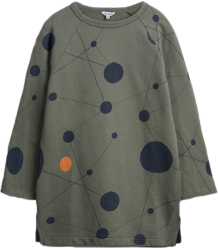 Barn of Monkeys Printed Sweat Dress ATOMS Barn of Monkeys Printed Sweat Dress ATOMS