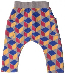 Barn of Monkeys CUBES Baby Trousers w/Pockets Barn of Monkeys CUBES Baby Trousers w/Pockets