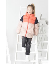 Gosoaky Brother Bear Unisex Puffer Coat Gosoaky Brother Bear Unisex Puffer Coat coral