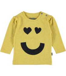 Kidscase Sam Organic Girls Print T-shirt Kidscase Sam Organic Girls Print T-shirt yellow