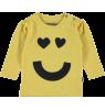 Kidscase Sam Organic Girls Print T-shirt Kidscase Sam Organic Girls Print T-shirt yellow