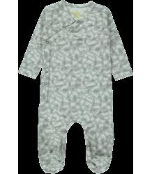 Snoop Organic NB Footed Suit Kidscase Snoop Organic NB Footed Suit