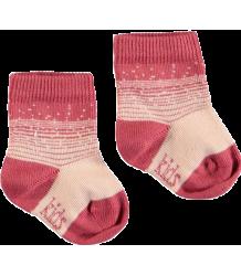 Kidscase NB Organic Socks Kidscase NB Organic Winter Socks rose