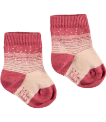 Kidscase NB Organic Winter Socks Kidscase NB Organic Winter Socks rose