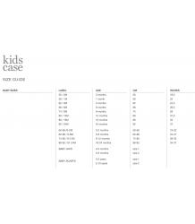 Kidscase Kay Organic Baby Dress Kidscase baby sizings
