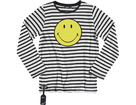 Yporqué SMILEY Tee Striped (SOUND)