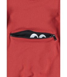 Yporqué MONSTER Baby Jumper Yporque MONSTER Baby Jumper red