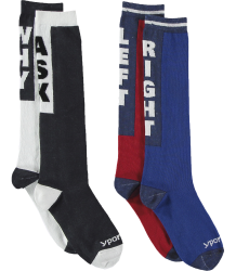 Yporqué SLOGAN Socks (pack of 2) Yporque SLOGAN Socks (pack of 2)