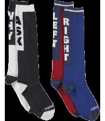 Yporqué SLOGAN Socks (pack of 2) Yporque SLOGAN Socks (pack of 2)