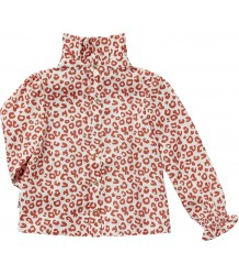 Maed for Mini Red LEOPARD AOP Blouse Maed for Mini Red LEOPARD AOP Blouse