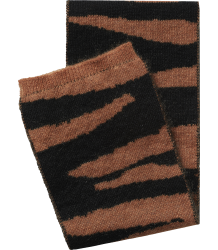 Maed for Mini Brown TIGER Knit Scarf - PRE-ORDER Maed for Mini Brown TIGER Knit Scarf