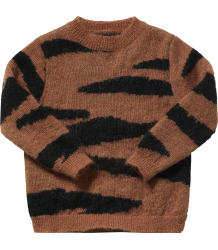 Maed for Mini Brown TIGER Knit Sweater Maed for Mini Brown TIGER Knit Sweater