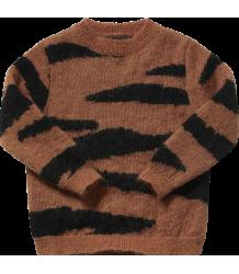 Maed for Mini Brown TIGER Knit Sweater - PRE-ORDER Maed for Mini Brown TIGER Knit Sweater