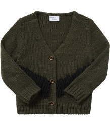 Maed for Mini Tense Turtle Knit Cardigan Maed for Mini Tense Turtle Knit Cardigan