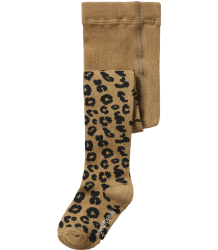 Maed for Mini LEOPARD Tights Maed for Mini Brown LEOPARD Tights