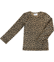 Maed for Mini LEOPARD AOP LS Shirt Maed for Mini brown LEOPARD AOP LS Shirt