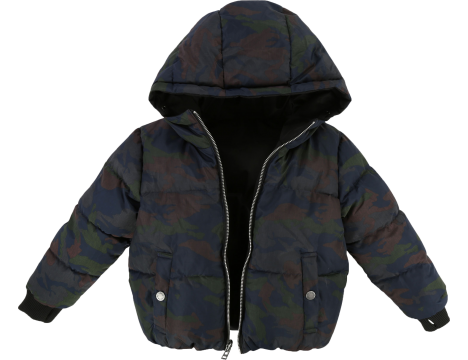 Zadig & Voltaire Kids April Doudoune Reversible Puffer Jacket