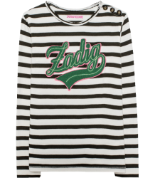 Zadig & Voltaire Kids Natalie T-shirt Striped ZADIG Zadig & Voltaire Kids Tee-shirt Striped ZADIG