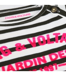 Zadig & Voltaire Kids Billie T-Dress Striped RUE CAMBON Zadig & Voltaire Kids Tee-Dress Striped RUE CAMBON