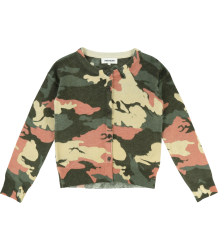 Zadig & Voltaire Kids Rozann Cardigan CAMOUFLAGE Zadig & Voltaire Kids Rozann Cardigan CAMOUFLAGE