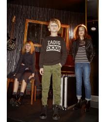 Zadig & Voltaire Kids Joe Sweatshirt ZADIG ROCKS Zadig & Voltaire Kids Sweatshirt ZADIG ROCKS