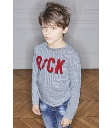Zadig & Voltaire Kids Jackson Tee-shirt Striped ROCK Zadig & Voltaire Kids Tee-shirt Striped ROCK