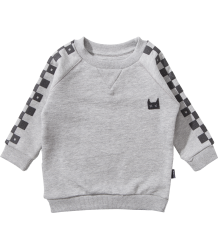 Munster Kids FLAGGED Sweatshirt Munster Kids FLAGGED Sweatshirt grey maple