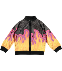 Stella McCartney Kids Electra Tyvec FLAMES Jacket Stella McCartney Kids Electra Tyvec FLAMES Jacket